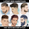 1000+ Boys Men Hairstyles and Hair cuts 2020