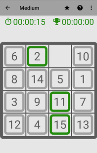 Screenshots - 15-Puzzle Game