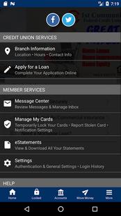 Screenshots - 1st Community FCU