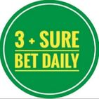 3+ SURE BET DAILY