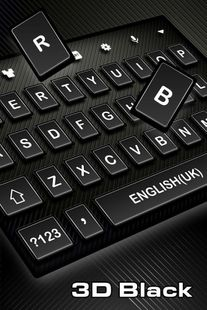 Screenshots - 3D Black Keyboard Theme