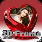 3D Photo Frames Effects : 3D Art Photo Maker