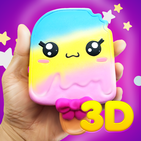 3D Squishy toys kawaii soft stress release games 2