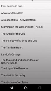 Screenshots - 45 Tales of Edgar Allan Poe