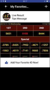 Screenshots - 4D Live Booms & Town 4dg America 4D bnt4dg Results