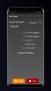 Screenshots - 4G LTE Network Test – Signal Finder