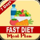 7 DAYS FAST DIET MEAL PLAN APK