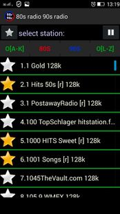 Screenshots - 80s radio 90s radio