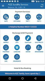 Screenshots - A2Z Suvidhaa Money