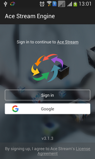 Screenshots - Ace Stream for Android TV