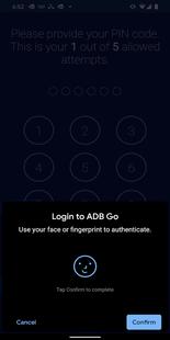 Screenshots - ADB Go