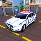 Advance Police Car Parking Game 3D : Spooky Stunt