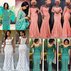 AFRICAN LACE STYLES 2019