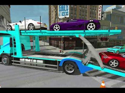 Video Image - Airplane Pilot Car Transport Sim-Car Transporter