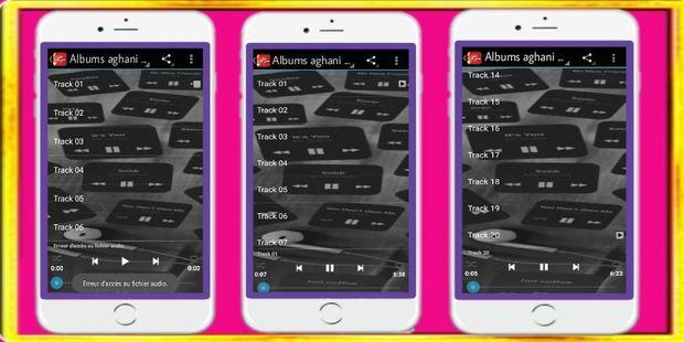 Screenshots - albums aghani Rif Agraf أغاني الريف أجراف 2020