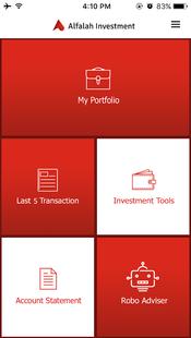 Screenshots - Alfa Invest