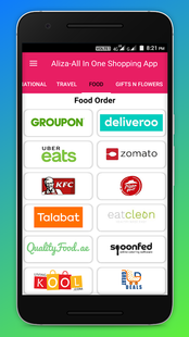 Screenshots - Aliza: All In One Online Shopping App - Dubai UAE