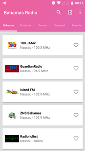 Screenshots - All Bahamas Radio Live Free