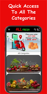 Screenshots - ALL FRESH - Online Grocery Delivery