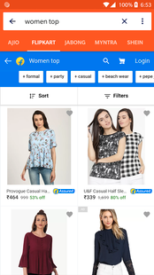 Screenshots - All in One Shopping and Price Comparison India