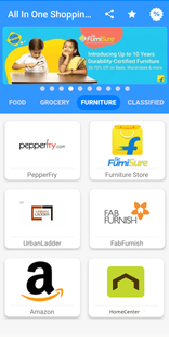 Screenshots - All In One Shopping App : Online Shopping App