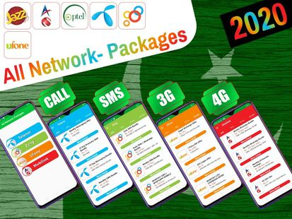 Screenshots - All Network Packages Pakistan 2020: