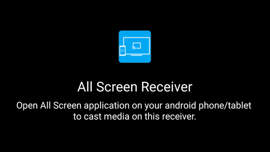 Screenshots - All Screen Receiver