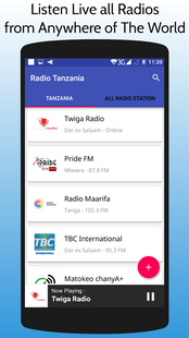 Screenshots - All Tanzania Radios