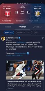 Screenshots - ALLBALL: NBA Scores & More