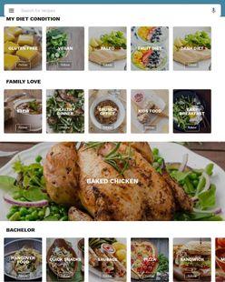 Screenshots - American cookbook - American food recipes
