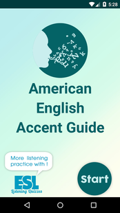 Screenshots - American English Accent Guide