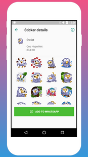 Screenshots - Animal Stickers for Chat - WAStickers