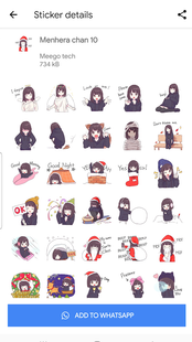 Screenshots - Anime Stickers (WAStickerApps) - Stickers Anime WA