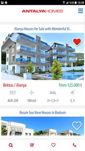 Screenshots - Antalya Homes Real Estate