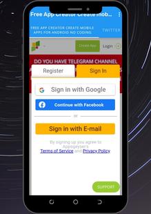 Screenshots - App Creator