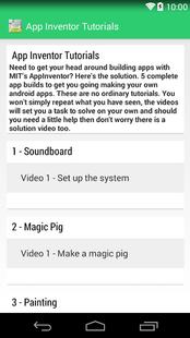 Screenshots - App Inventor 2 Tutorials FREE