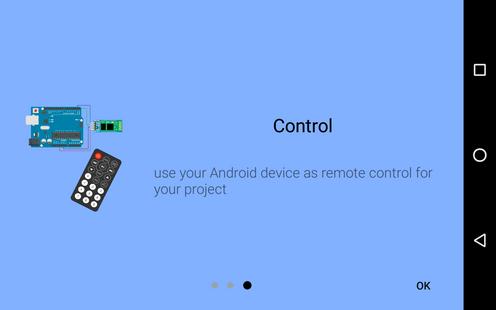 Screenshots - Arduino bluetooth controller