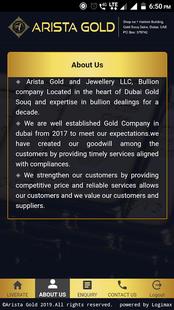 Screenshots - Arista Gold and Jewellery