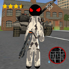 Army Stickman Rope Hero Counter Attack Crime