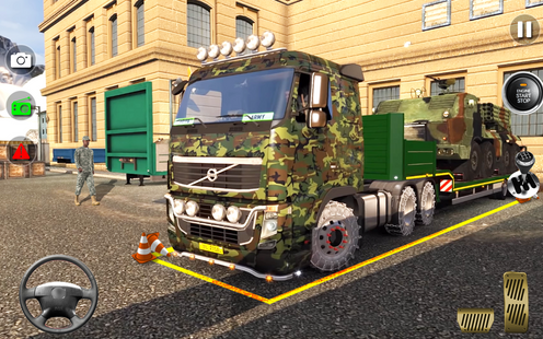 Screenshots - Army Truck Driving Game 2021- Cargo Truck 3D