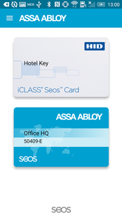 Screenshots - ASSA ABLOY Mobile Access