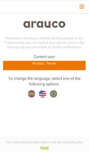 Screenshots - ATS Mobile Arauco