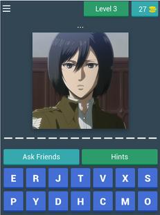 Screenshots - Attack On Titan - Quiz Game 2020