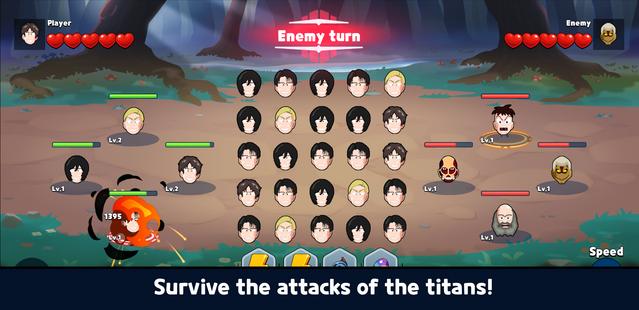 Screenshots - Attack the Titan - Match3 RPG