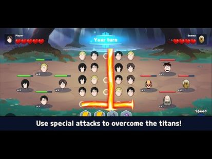 Video Image - Attack the Titan - Match3 RPG