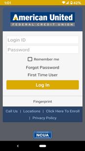 Screenshots - AUFCU Mobile Banking