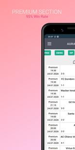 Screenshots - Aura Betting Tips