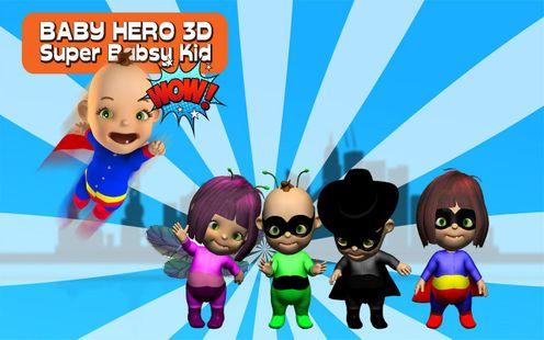 Screenshots - Baby Hero 3D - Super Babsy Kid