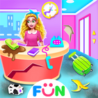 Baby Hotel Clean up – Girls Cleaning Fun