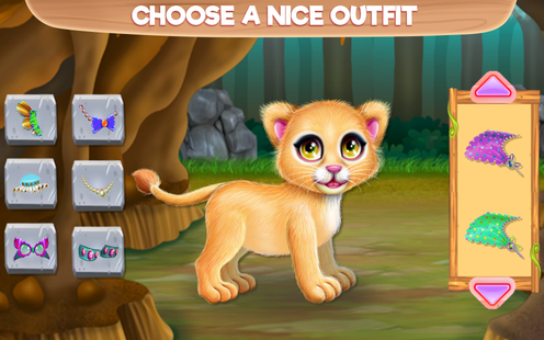 Screenshots - Baby Lion Caring